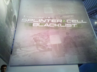 Le stand Splinter Cell : Blacklist