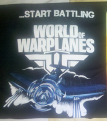 Un tee-shirt World of Warplanes